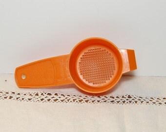 Vintage Tupperware Fall Colors Orange Egg Separator