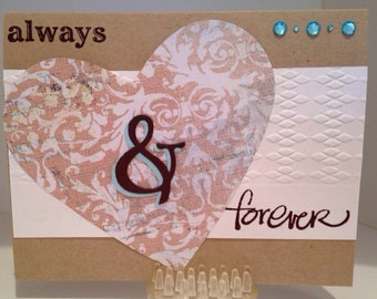 Always and Forever Handmade Card