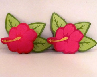 Wooden Flower Cut-Outs
