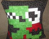 Fygar Quilted Pillow Cover - free shipping