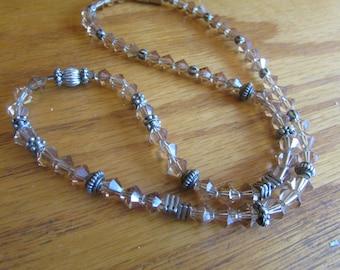 Amber crystaL BEADS