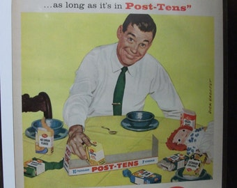 Food  141  Post-Tens.   Ad   May   1958
