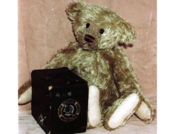 """14"""" Emerson Teddy Bear Pattern by Linda Johnson of BEARDEAUX BEARS"""