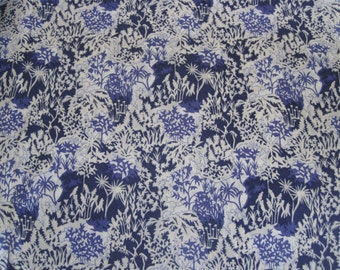 Liberty of London tana lawn fabric Paper Garden  Fat Quarter fq Tissu Liberty