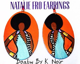 Natalie Fro Earrings