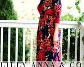 LillyAnnaKids Ladies MiMi Ruffle Dress LALA