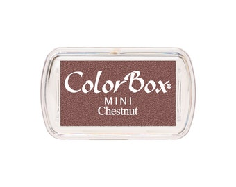 ColorBox Mini Sized Ink Pad Chestnut Brown