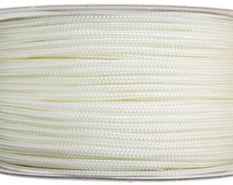 10 Meters Nylon Knotting Cord - White 1mm (100001)