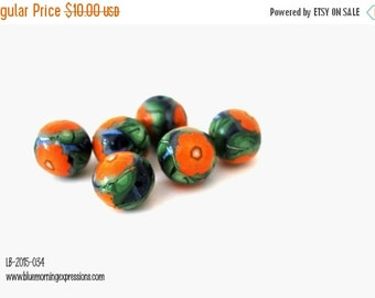 Polymer Clay Beads, Polymer Beads, Beads for Sale, Loose Beads, Clay Beads, Handmade Beads, Fimo Beads, Beading Supply, FLower Beads