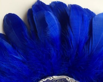 PRIMA GOOSE FEATHERS / Chagall Blue  / P - 02