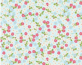 Floribella Small Floral Print Cotton Fabric by Emily Taylor for Riley Blake - 1 Yard