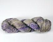 FS{f2} Hyacinth Yarn: 65/35 Mulberry Silk/Linen Fingering Hand-Dyed Yarn (437y/400m/100g) CW190