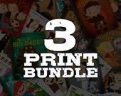 3 Print Bundle