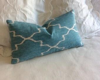 Monaco mistt decorative lumbar pillow with insert 12x22