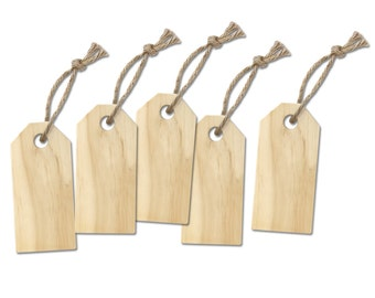 Large Wood Gift Tag- Set of 5