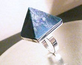 NEW SupHerOrgone Third Eye Chakra Orgone Pyramid Ring or Necklace