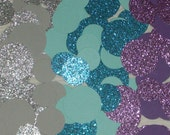 Mermaid Under the Sea Glittered Circle Princess Ariel Party Decorations or Confetti