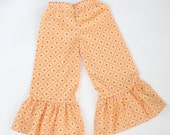 Ready to Ship Sale - RTS 3T Corduroy Ruffle Pants