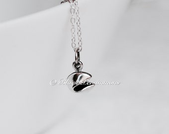 Fortune Cookie Necklace - Solid 925 Sterling Silver Charm - Free Domestic Shipping