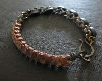 Snake Vertebrae Bracelet