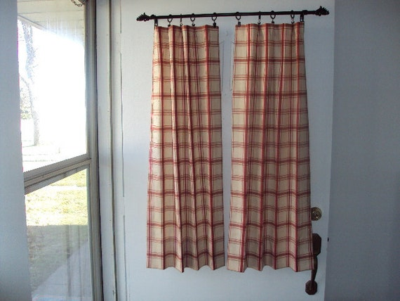 Curtains for front door windows 2