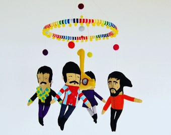 The Beatles Mobile --_  Made to Order --- Yellow Submarine