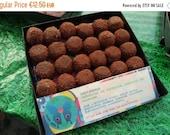 VALENTINE SALE NEW Chocatanga: raw vegan energy balls with chocolate, hazelnuts & tangerine. Organic and no gluten or refined sugar
