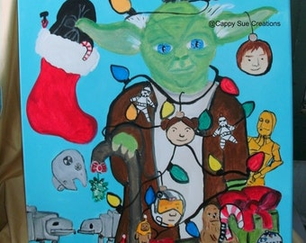 Christmas Tree Yoda