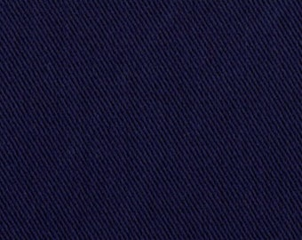 10 oz Brushed COTTON Twill Upholstery Slipcover Fabric NAVY BLUE Home Decor Slipcovers Clothing