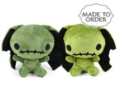 Custom Zombunny (Zombie Bunny) Plush -- Choose Colors