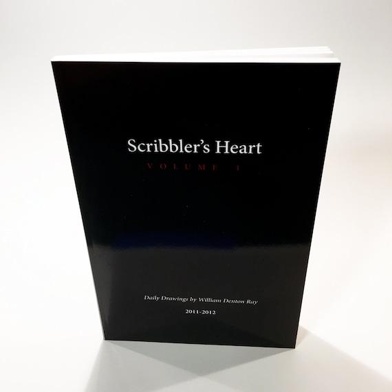 Scribbler's Heart - Volume 1 - Art Book - Selected Digital Drawings from 2011- 2012