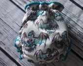 One Size Hybrid Fitted Cloth Diaper in Dragon Heart by Soothe Baby - Slight Second