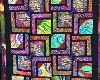 Fall Sale Dreaming of Euphoria art quilt