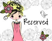 Reserved for Marcia