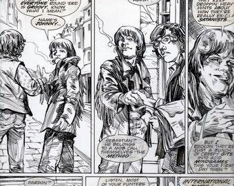 Michael Zulli // Peter Hogan // Vince Locke // Neil Gaiman // Sandman Presents Love Street // Original Page // 1999