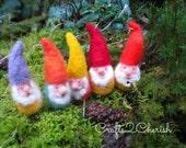 Gnome,felt ornament,Gnome ornament,Christmas Ornament,Holiday Decor