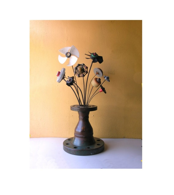 Foyer Table Vases : Industrial flower vase wedding centerpiece entryway decor