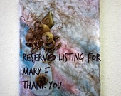 Reserved Listing for Mary F Thank you.
