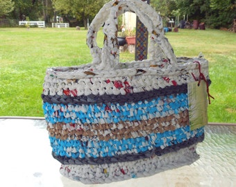 CuteTote from Plastic Bags Plarn