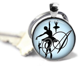 Dance Gifts, Personalized, Dance Charm, Keychain, Gifts for Dancers, Gifts for Dance Teachers, Birthday Gift, Recital Gift, Gifts for Her