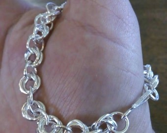 3 and 1 Chain Bracelet