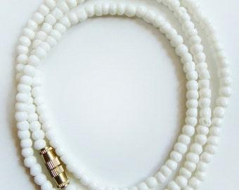 """18"""" Water Buffalo Bone 3mm Mala Beads"""