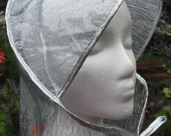 Silver Rain Hat