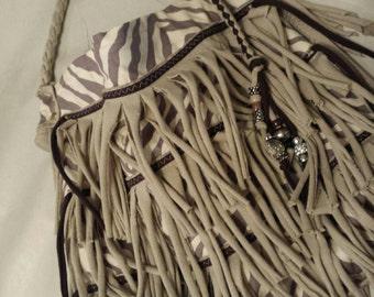 Jungle Fever Fringe Bag
