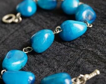Gorgeous Turquoise Stone Bracelet