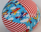 Balloon Ball TOY - Planes and Stripes - Great gift, Party favor or Party Decoration
