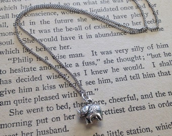 The Bertha Necklace - Tiny Elephant Necklace