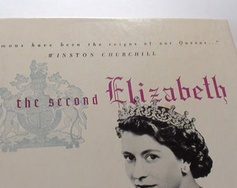 THE CORONATION Of Her Majesty Queen Elizabeth 1953 LP Narrated by David Niven  On SaLe Now