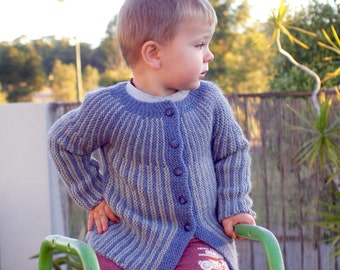 Jacket Hand Knit Sweater 2+ years old