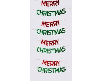 Christmas Little B  Holiday Merry Christmas set of 4  Mini Stickers, 3D Stickers Holiday Stickers, Scrapbooking